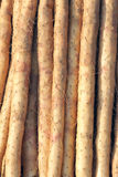 Chinese yam Royalty Free Stock Photos