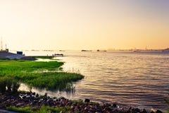 Chinese Yangtze-Rivier royalty-vrije stock fotografie