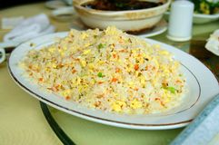 Chinese yangzou food yangzhouchaofan Stock Photo