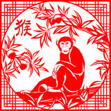Chinese year of monkey Royalty Free Stock Photography