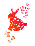Chinese year of Rabbit Royalty Free Stock Images