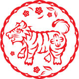 Chinese year of Tiger Royalty Free Stock Image