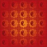 Chinese yin yang pattern background Stock Photos