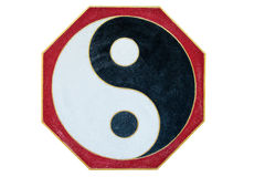 Chinese Yin Yang sign and symbol Royalty Free Stock Photography