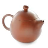 Chinese Yixing clay tea pot Stock Photos