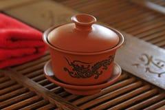 Chinese yixing teapots. Fine beautiful Royalty Free Stock Photo