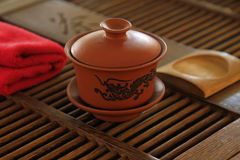 Chinese yixing teapots Stock Photography