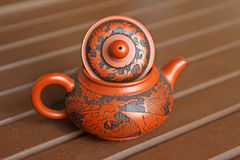 Chinese yixing teapots Royalty Free Stock Image