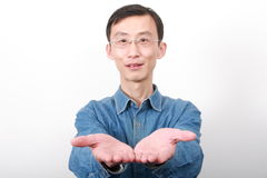 Chinese young man Royalty Free Stock Image