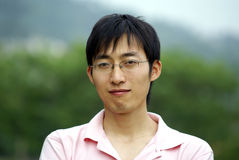 Chinese Young Man. Confident Chinese teenager Stock Images