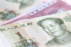 Chinese yuan Stock Photo