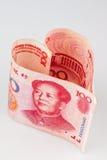 Chinese Yuan Stock Foto