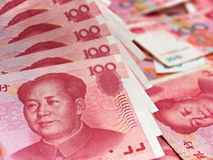 Chinese yuan Stock Afbeelding