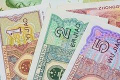 Chinese-Yuan-Banknoten (Renminbi) für Geld und Geschäft conce Lizenzfreie Stockbilder