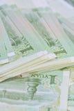 Chinese-Yuan-Banknoten (Renminbi) für Geld und Geschäft conce Stockfotos