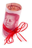 Chinese yuan banknotes Royalty Free Stock Photos