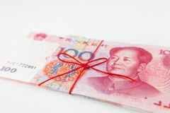 Chinese yuan banknotes Stock Photo