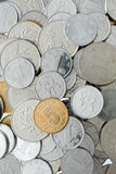 Chinese Yuan coins Royalty Free Stock Images