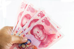 Chinese yuan currency Royalty Free Stock Photo
