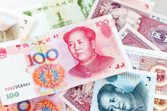Chinese yuan currency Stock Image