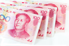 Chinese yuan currency Royalty Free Stock Photos