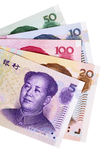 Chinese Yuan currency bills Stock Photos