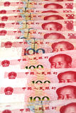 Chinese Yuan Currency Close Up Stock Photography