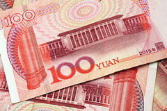 Chinese Yuan Currency Close Up Royalty Free Stock Images
