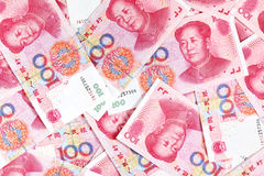 Chinese yuan renminbi Royalty Free Stock Photos