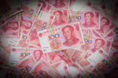 100 Chinese Yuans Stock Foto