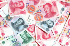 Chinese yuans Stock Images