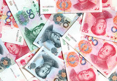 Chinese yuans Stock Image