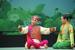 Chinese Yue opera performers Stock Photos