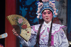 Chinese Yue-operaacteur Royalty-vrije Stock Afbeelding