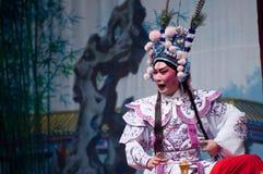 Chinese-Yue-Opernschauspieler Stockbilder