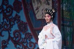 Chinese-Yue-Opernschauspieler Stockfotografie