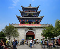 Chinese Yunnan the ancient city of Dali Stock Photo