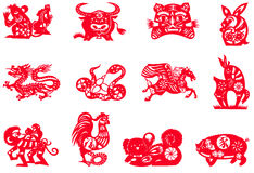 Chinese zodiac Stock Photos