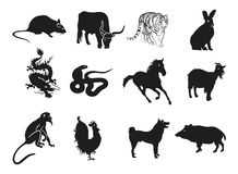 Chinese Zodiac Stock Photo