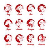 Chinese Zodiac Stock Images