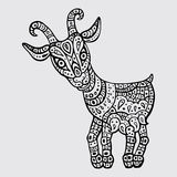 Chinese Zodiac. Animal astrological sign. goat Stock Images