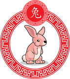 Chinese Zodiac Animal - Rabbit Royalty Free Stock Image