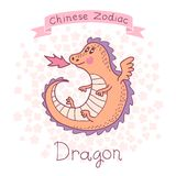 Chinese Zodiac - Dragon Stock Image