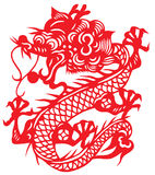 Chinese zodiac of dragon year Royalty Free Stock Photo