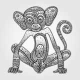 Chinese zodiac Monkey Royalty Free Stock Photography