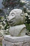 The Chinese zodiac monkey Stock Image