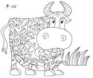 Chinese Zodiac OX Royalty Free Stock Photography