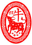 Chinese zodiac - ox Stock Images