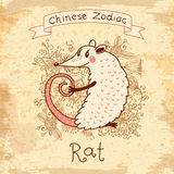 Chinese Zodiac - Rat Stock Photos