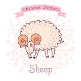 Chinese Zodiac - Sheep Stock Photo